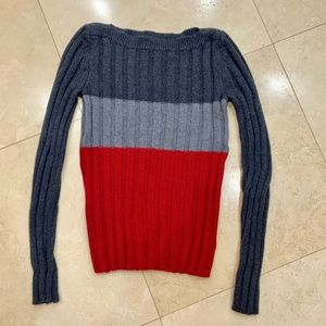 Armani Exchange 100% Merino Wool Sweater